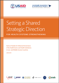 Setting Shared Strategic Direction Health Systems Strengthening Image